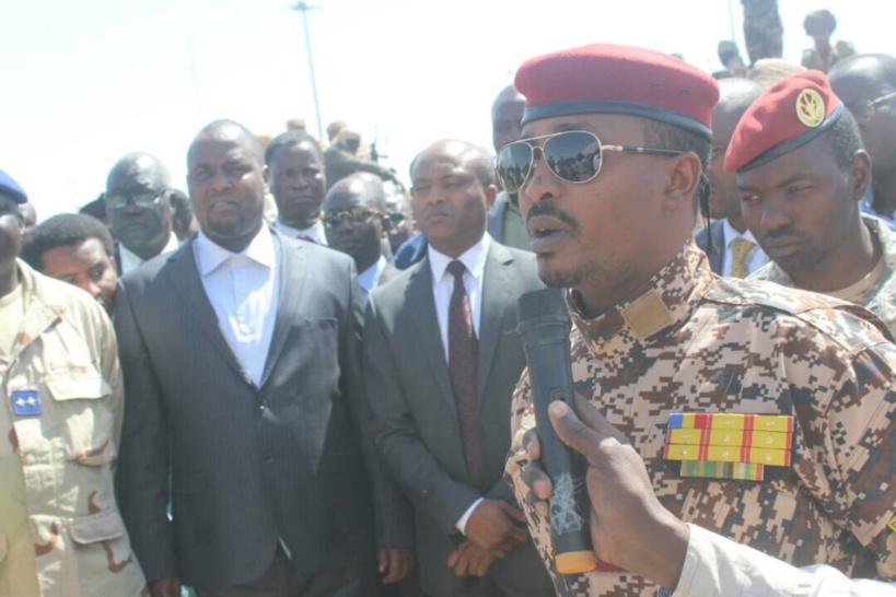 Le commandant de la DGSSIE (garde républicaine), le général Mahmat Idriss Déby Itno. Alwihda Info