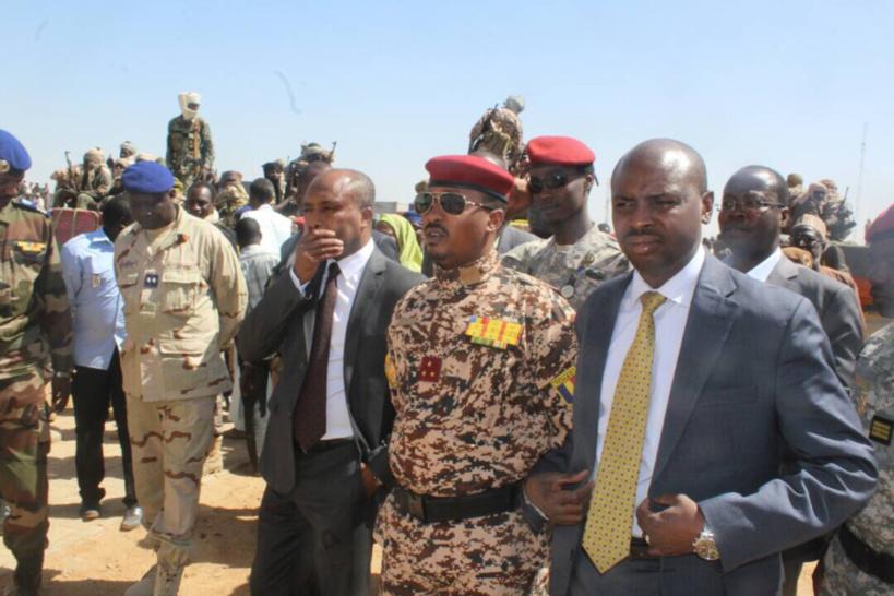 Le commandant de la DGSSIE (garde républicaine), le général Mahamat Idriss Déby Itno. Alwihda Info