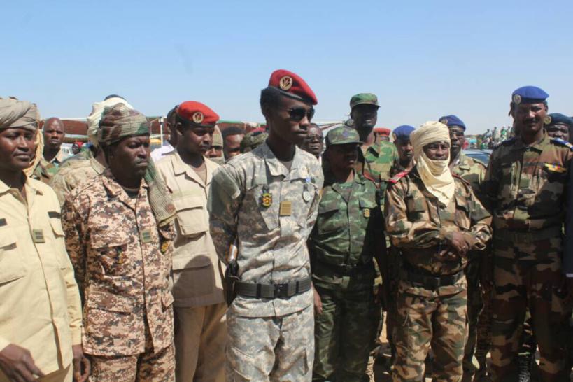 Force d'appui : les comportements déviants seront «sévèrement sanctionnés», prévient Mahamat Idriss Deby