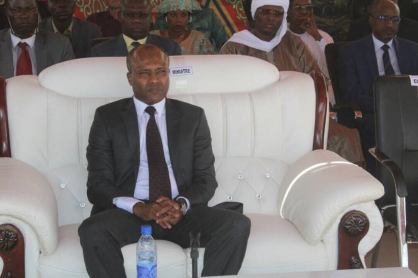 Le Ministre des Finances et du Budget, Abdoulaye Fadoul Sabre. Alwihda Info