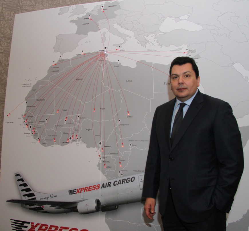 A partir de Tunis, Express Air Cargo lance 25 nouvelles lignes aériennes sur l'Afrique, y compris le Tchad