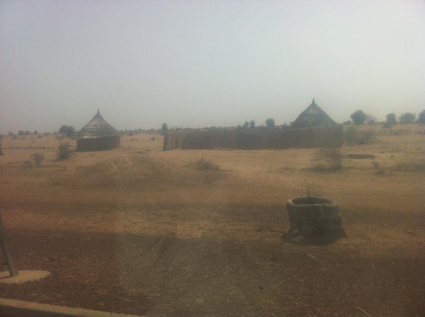 Le paysage à la sortie nord de N'Djamena, 2014. Photo Alwihda Info