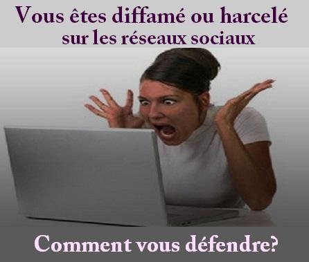 Vous êtes diffamé ou harcelé sur les réseaux sociaux : comment vous défendre ?