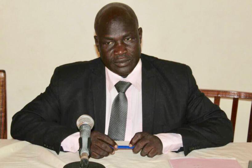 Le secrétaire général de l'Alliance des Défenseurs des Droits Humains et de l'Environnement au Tchad (ADHET), Abba Daoud Nandjele. Alwihda Info