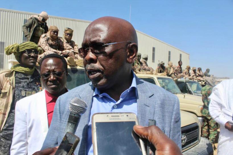 Le président du Conseil National du  Patronat Tchadien (CNPT), Bichara Doudoua. Alwihda Info