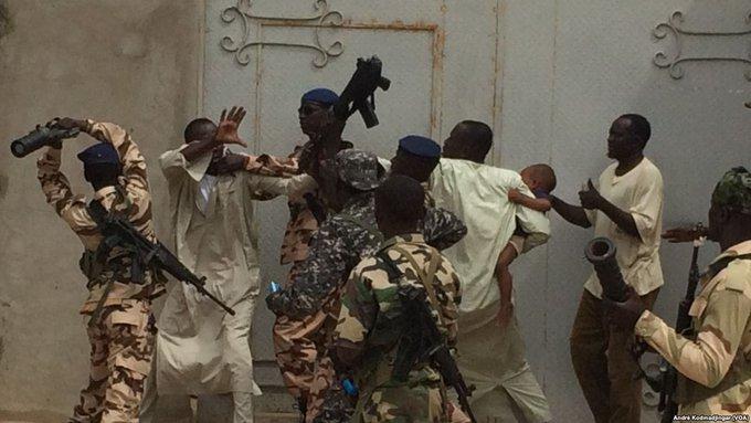 Illustration. Violence policière ce lundi 22 janvier à N'Djamena contre des civils. Crédits photo : André Kodmadjingar/VOA