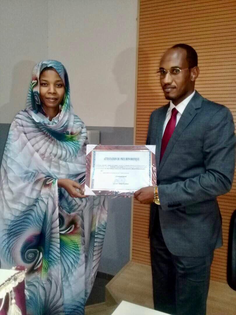 N'Djamena : le maire du 5ème arrondissement primé pour sa gestion