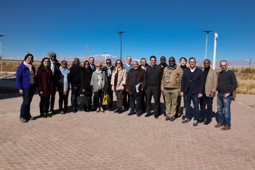 Maroc : en visite de travail, les administrateurs de la BAD saluent les progrès dans le développement des énergies renouvelables