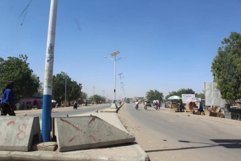 Une rue à N'Djamena lors de la grève désolé transporteurs en janvier 2018. AlWihda Info