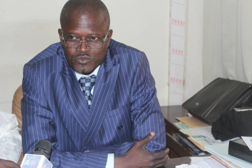 Le président du Syndicat des Magistrats du Tchad, Allarakete Sanengar. Alwihda Info