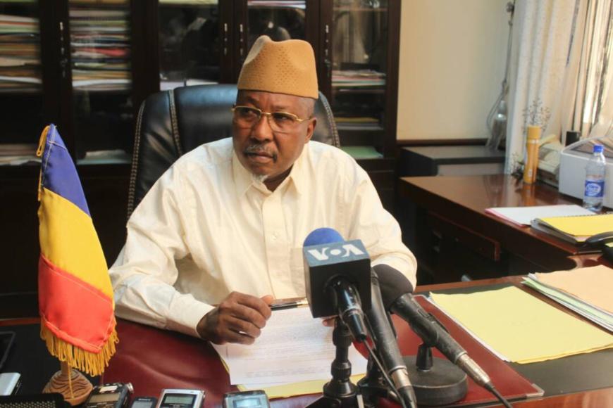 Le ministre de la sécurité publique, Ahmat Mahamat Bachir. Alwihda Info
