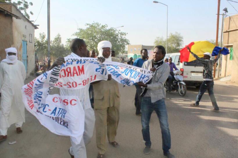 N'Djamena : plusieurs manifestants interpellés après la marche pacifique