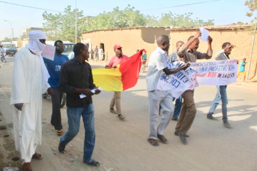La marche du 8 février à N'Djamena. Alwihda Info
