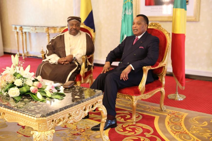 CEEAC : le Copax au menu des échanges entre Sassou N'Guesso et Ali Bongo