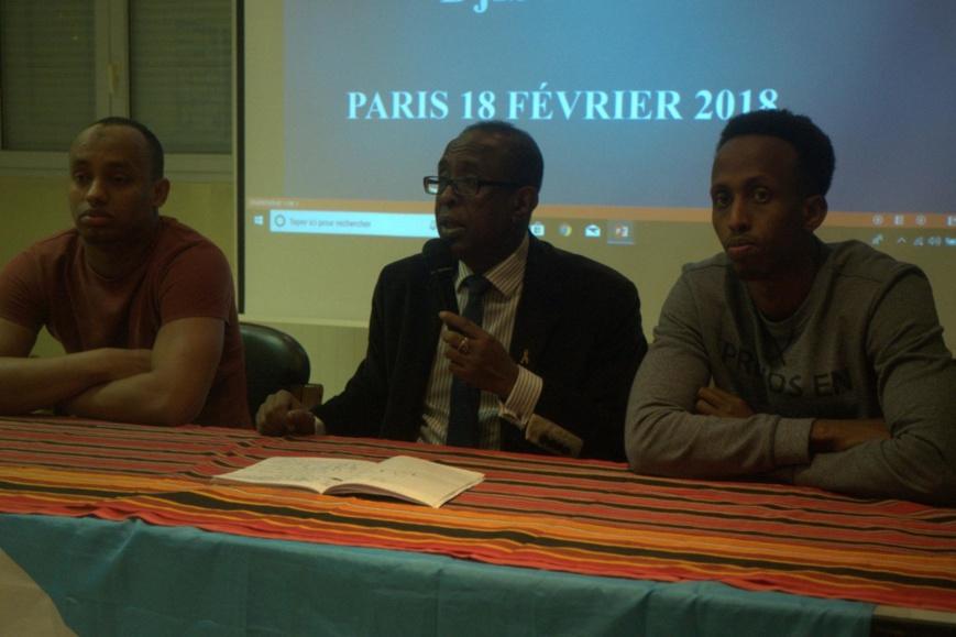 Compte rendu de la conférence de l'opposition djiboutienne à Paris le dimanche 18 février