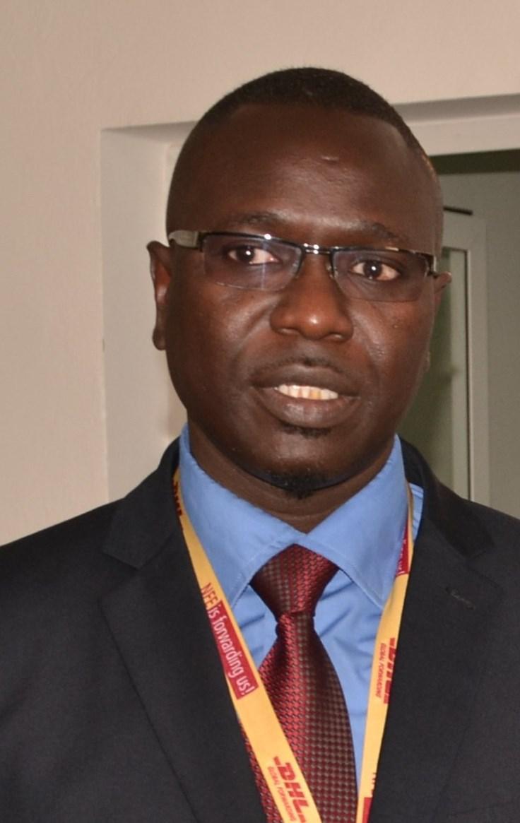 Serigne Ndanck Mbaye, Directeur Régional pour le Sénégal, la Côte d'Ivoire et le Ghana, et directeur national de DHL Global Forwarding Ghana