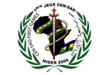 Le logo de la 1ère édition des jeux de la Cen-Sad à Niamey au Niger.