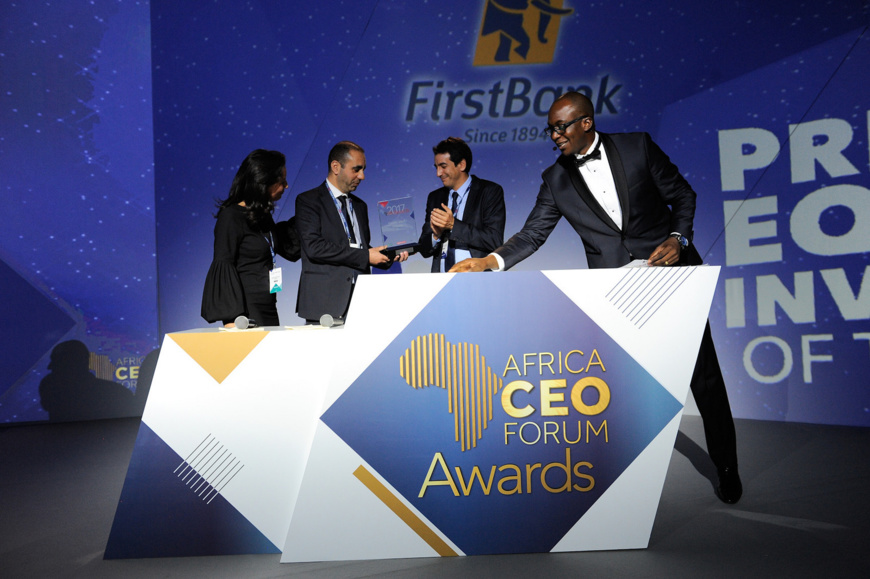 Africa CEO Forum 2017 - Dîner de Gala & Africa CEO Forum Awards. Crédits photo : DR