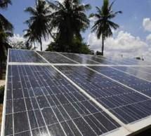 L'énergie solaire en Afrique.