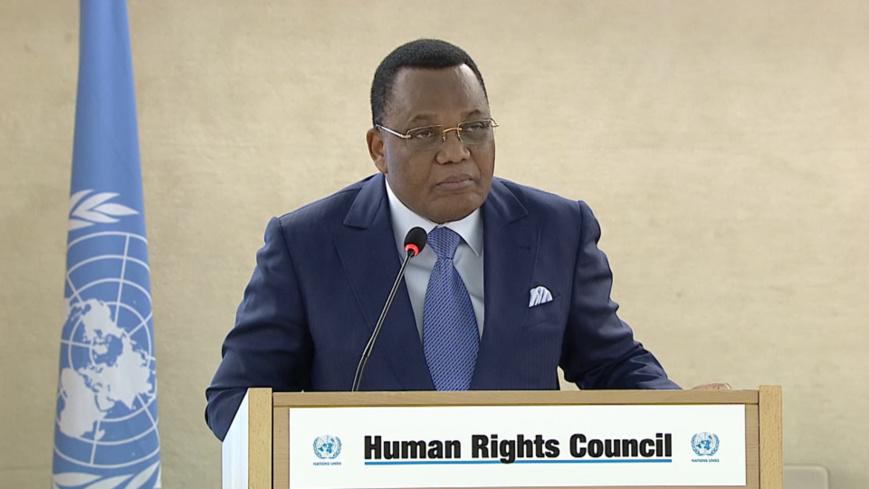 Le diplomate congolais, Jean Claude Gakosso