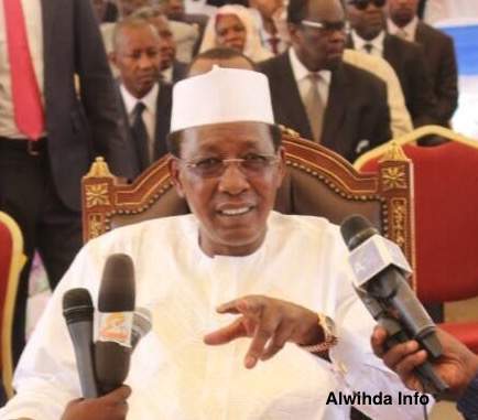 Le chef de l'Etat Idriss Déby. Alwihda Info