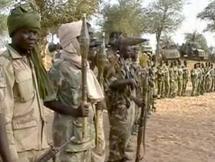 Des rebelles tchadiens dans le maquis.