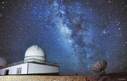 The Ngari Observatory (Photo from Jinan Daily)