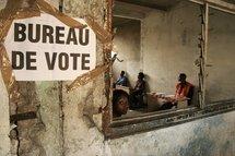 Bureau de vote en Guinée Equatoriale.