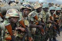 Des soldats Ougandais de l'Union Africaine.