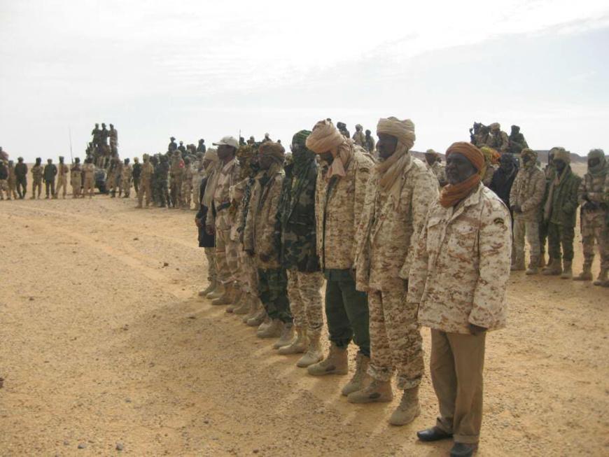 Des rebelles tchadiens. Credit photo : CCMSR