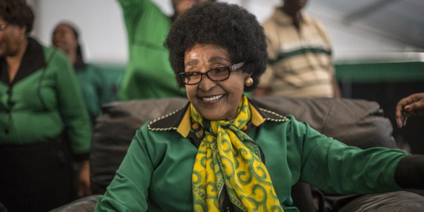 Message de condoléances des associations patriotiques camerounaises de Belgique suite au décès de Winnie Mandela