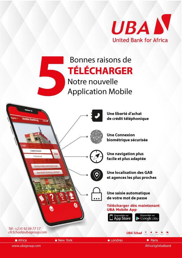 UBA répond aux attentes fortes des clients et introduit une application de services bancaires mobiles de grande classe