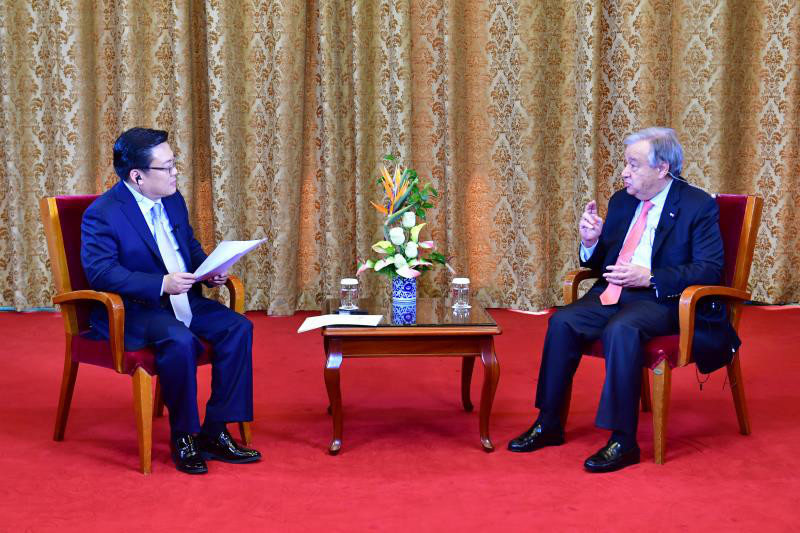 Guterres: China is the pillar of multilateralism of the world