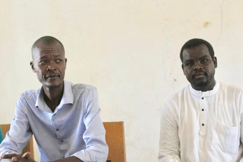 Le porte-parole du Mouvement Citoyen Jeunesse en Marche, Nadjindou Hubert. Alwihda Info