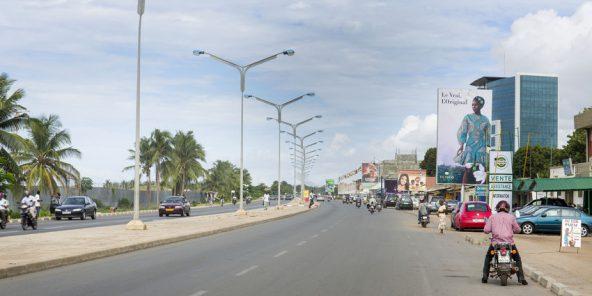 Vue de la ville de Lomé. © Jacques TORREGANO pour Jeune Afrique