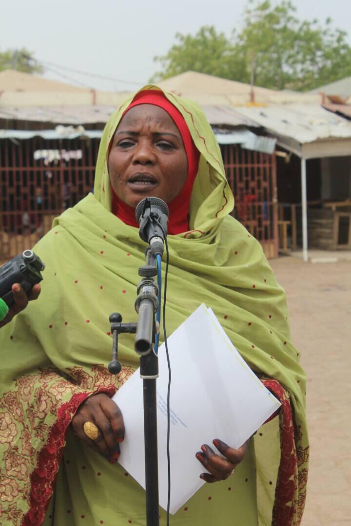 La Maire de N'Djamena déplore l'organisation du marché d'Habena après un incendie