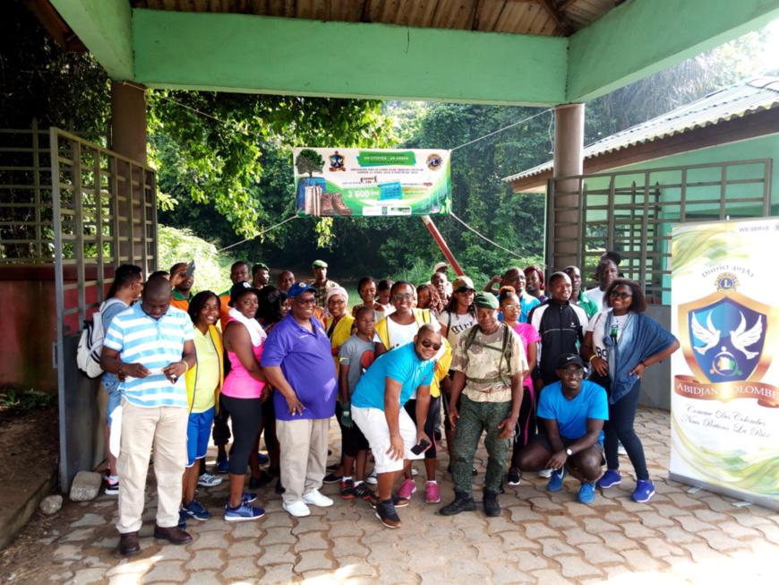 Côte d'Ivoire/Préservation et restauration des forêts : Le Lions Club Abidjan Colombe apporte sa contribution