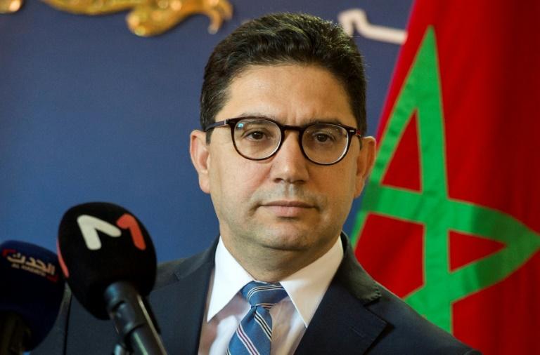 Le ministre marocain des Affaires étrangères Nasser Bourita à Rabat, le 8 décembre 2017 / © AFP/Archives / FADEL SENNA