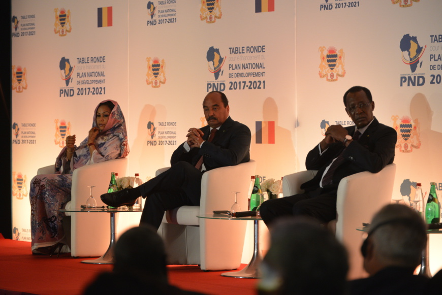 La conférence du PND à Paris. Crédits photo : PND Tchad