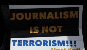 Une pancarte lors d'une manifestation au Kenya. Crédits : DR