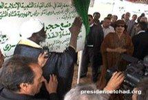 Tchad : Une nouvelle oeuvre de Kadhafi