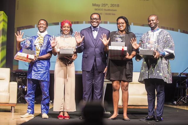 """Les jeunes lauréats du concours """"l'Afrique de mes rêves"""" vedettes de la Journée de l'Afrique"""