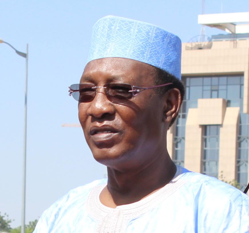 Le chef de l'Etat tchadien Idriss Déby. Photo : Alwihda Info