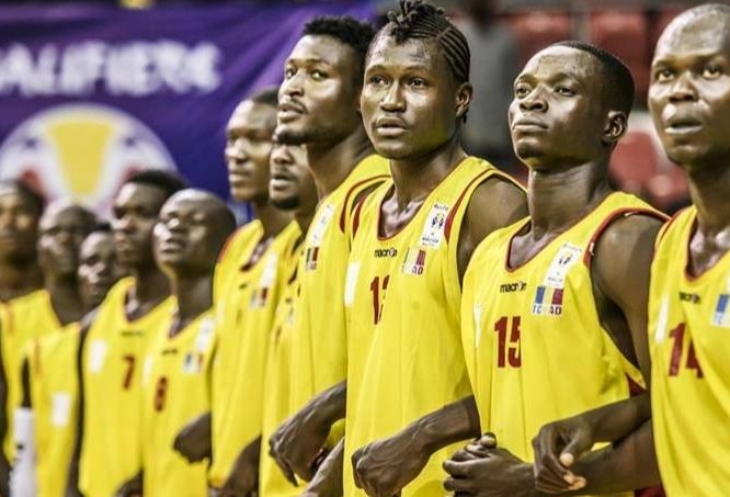 Les Sao du Tchad (équipe nationale tchadienne de Basket-ball). Crédits photo : DR