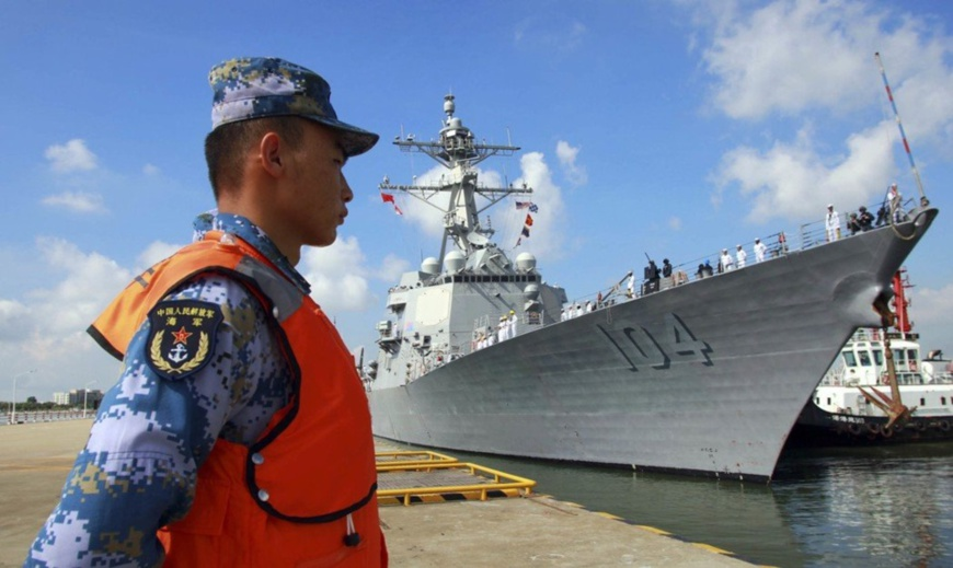 Op-Ed: US show of force shows who is really militarizing the South China Sea