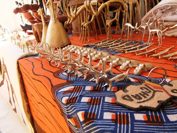 De l'artisanat au Tchad. Crédit photo : Artiste-tchadienne.com