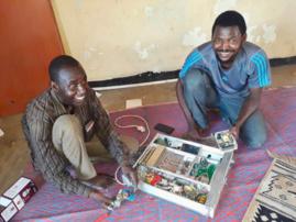 Les locaux de la radio DJA FM au Tchad. Photo : Alwihda Info