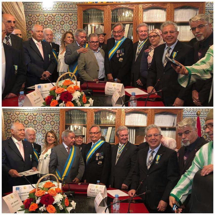 """""""L'Ordre Lafayette"""" présent au Maroc"""