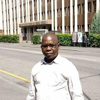 L'enseignant chercheur à la Faculté des sciences économiques et de gestion de l'Université de N'Djamena, Doudjidingao Antoine.