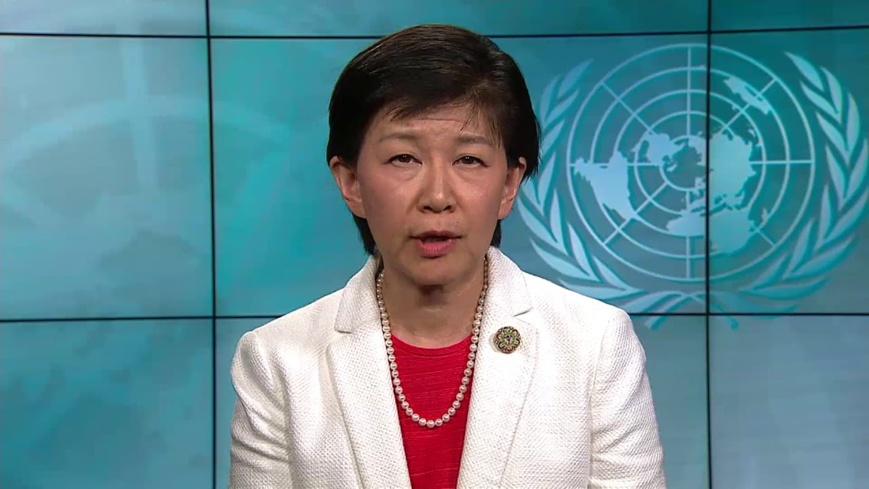 La secrétaire général adjoint des Nations Unies et Haut Représentant des Nations Unies pour les affaires de désarmement, Madame Izumi NAKAMITSU. CRÉDITS : DR